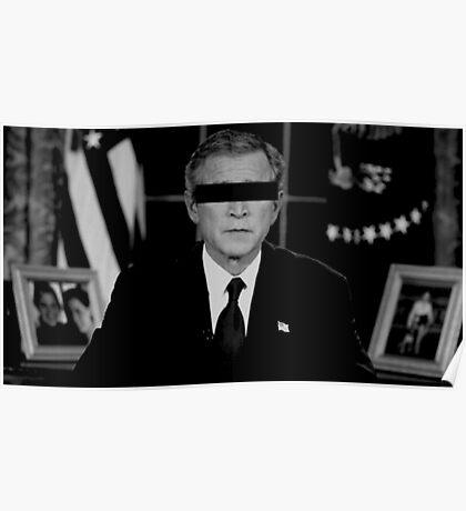 unidentified George Bush Jr Poster