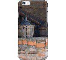 old wine barrel iPhone Case/Skin
