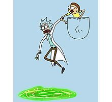 Rick and Morty! Photographic Print