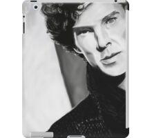 BBC Sherlock (monochrome) iPad Case/Skin