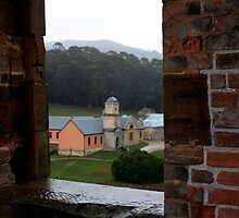 Hospital & Asylum, Port Arthur, Tasmania by Ian Ramsay