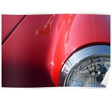 Alfa Romeo Guilia Sprint 101, 1962 Poster