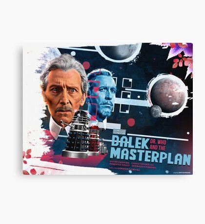 Dr. Who - The Dalek Masterplan - Movie Poster Artwork Canvas Print