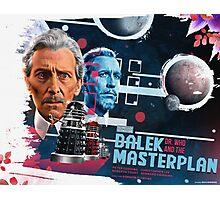 Dr. Who - The Dalek Masterplan - Movie Poster Artwork Photographic Print