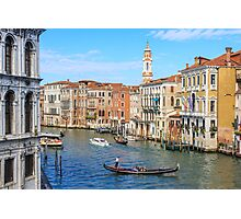 The Grand Canal, Venice Photographic Print