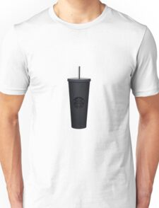 matte black venti starbucks cup Unisex T-Shirt