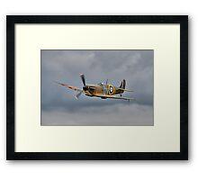 Guy Martin`s Spitfire 1 Framed Print