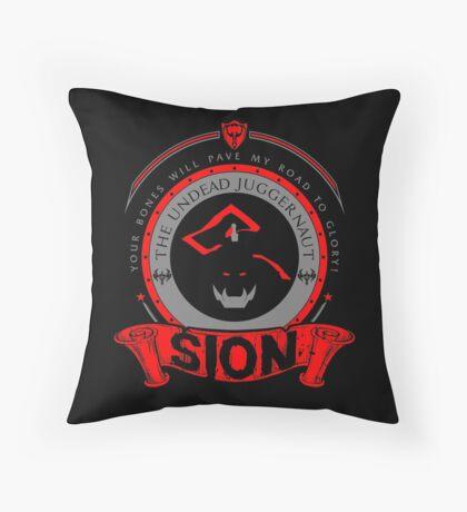 Sion - The Undead Juggernaut Throw Pillow