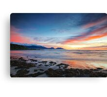 Kaikoura Sunrise Canvas Print