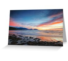 Kaikoura Sunrise Greeting Card