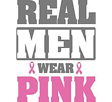 Real men wear pink Photographic Print