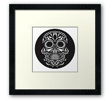 Day of the Dead Skull Framed Print
