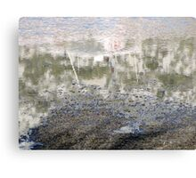 Reflections in the Waves Canvas Print