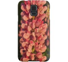 Hot Pink Lupines From My Mother's Garden Samsung Galaxy Case/Skin