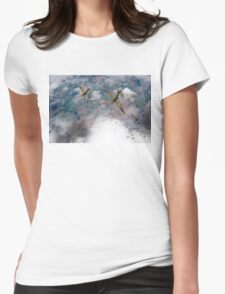 Spitfires swoop Womens Fitted T-Shirt