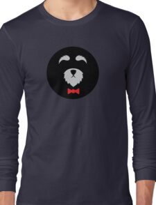 Minimalist Mini Schnauzer Long Sleeve T-Shirt