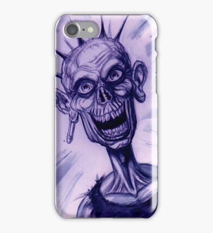 BW PUNK ZOMBIE iPhone Case/Skin