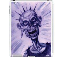 BW PUNK ZOMBIE iPad Case/Skin
