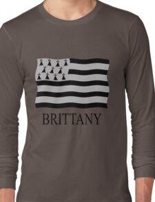 Brittany flag Long Sleeve T-Shirt