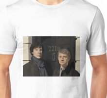Sherlock and John - 221B Unisex T-Shirt