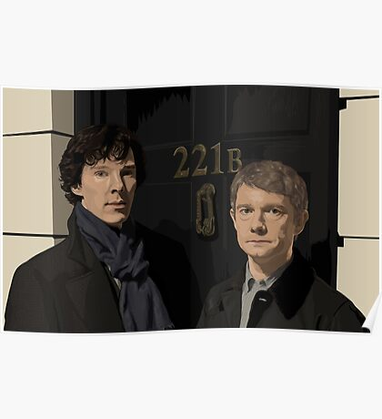 Sherlock and John - 221B Poster