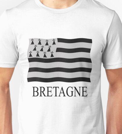 Brittany flag Unisex T-Shirt