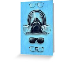 All I See Is Blue Greeting Card