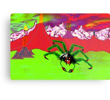 An Example of the Main Intelligent Species on the Exoplanet Araneae Metal Print