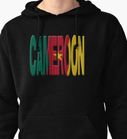 Cameroon flag Pullover Hoodie