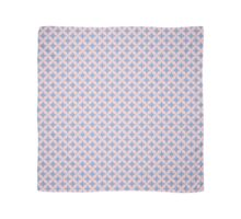 Abstract Frangipani Flower Pattern | Rose Quartz and Serenity | Pantone Colors of the Year 2016 Scarf