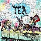 Alice in Wonderland - Tea Time by eviebookish