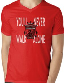 LIVERPOOL - The Reds Mens V-Neck T-Shirt