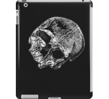 Human Skull Vintage Illustration iPad Case/Skin