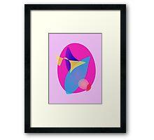 Pink Magic Mirror Framed Print