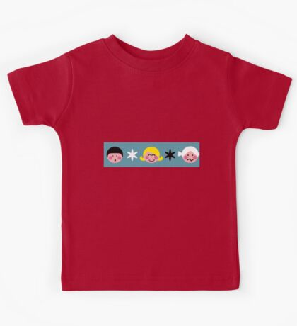 Funny Faces Kids Tee