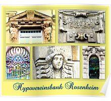 Hypovereinsbank Rosenheim Poster
