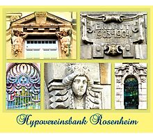 Hypovereinsbank Rosenheim Photographic Print
