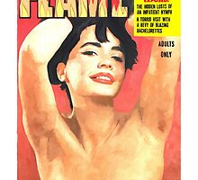 Flame - Vintage Magazines Covers Series by Gabriel T Toro