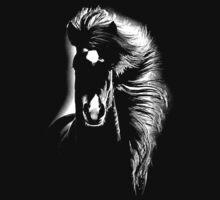 horse t-shirt by parko