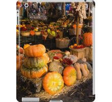 Italian Thanksgiving Harvest at Campo de Fiori in Rome, Italy iPad Case/Skin