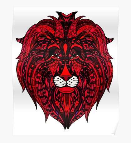 Red Lion Poster