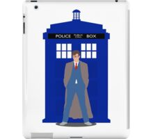 Blue Tardis iPad Case/Skin