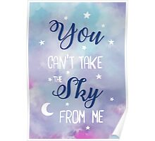 Firefly Hand Lettering Poster