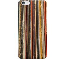 Old records iPhone Case/Skin