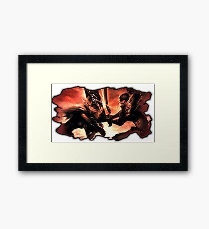 Yasuo & Riven Framed Print