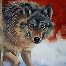 Winter Wolf by Margaret Stockdale