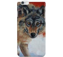 Winter Wolf iPhone Case/Skin