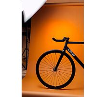 Track Bike Photographic Print