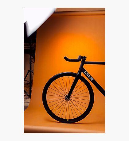 Track Bike Photographic Print