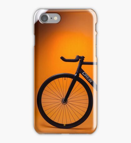 Track Bike iPhone Case/Skin